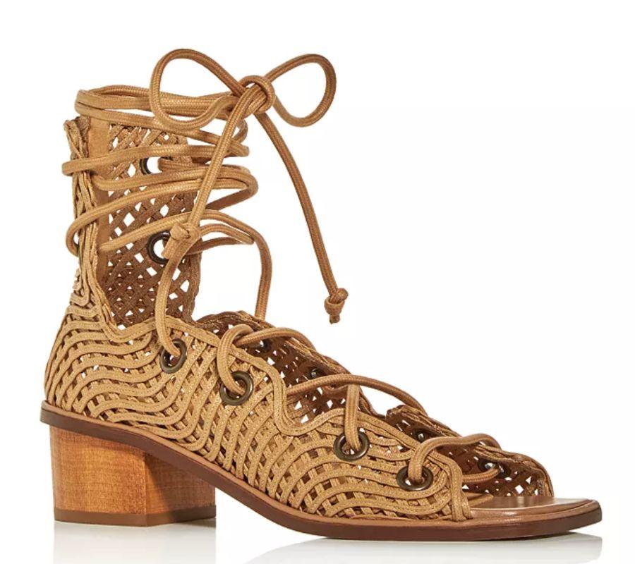 stella mccartney, stella mccartney shoes, gladiator sandals, spring 2021 shoe trenfds