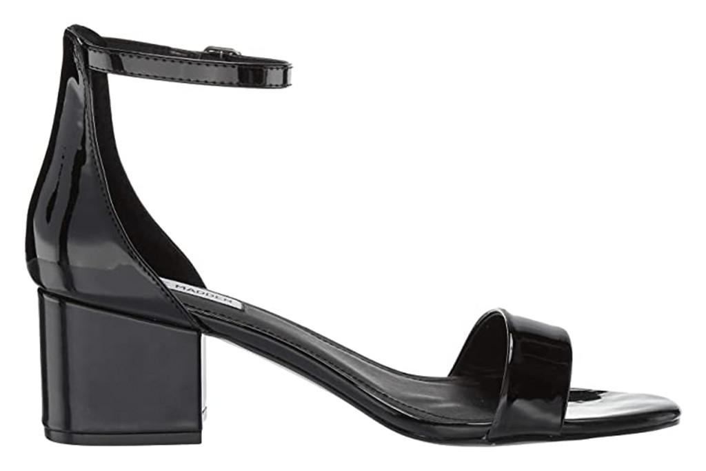 steve madden irenee sandal, black sandal, steve madden