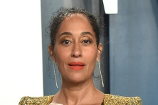 Tracee Ellis Ross Turns Heads in a Voluminous Twist on Suiting with Low-Cut Louboutins