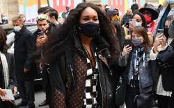 Venus Williams attends the Louis Vuitton