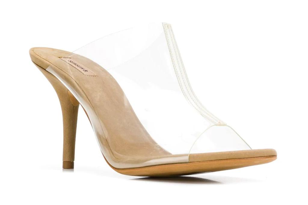 yeezy, pvc, heels