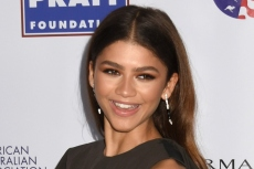 Zendaya Casts Her Vote In A Cozy Oversized Hoodie & Reebok Sneakers