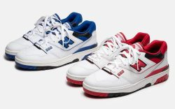 New Balance 550 Red and Blue