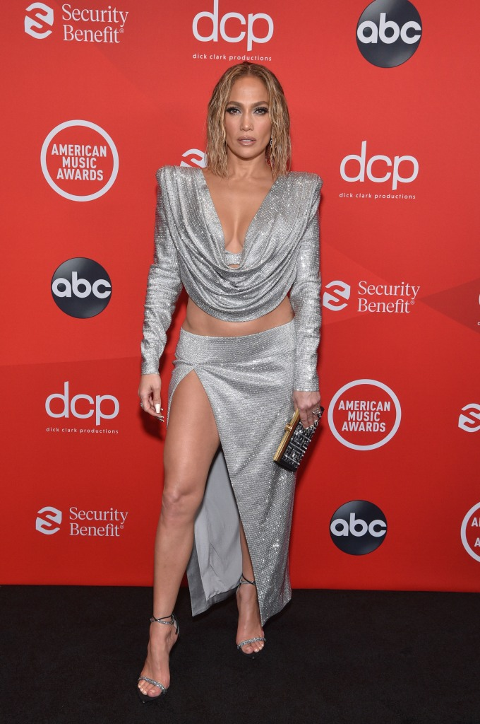 "THE 2020 AMERICAN MUSIC AWARDS - ""The 2020 American Music Awards"", hosted by Taraji P. Henson aired from the Microsoft Theater in Los Angeles, SUNDAY, NOV. 22 (8:00-11:00 p.m. EST), on ABC. (ABC)JENNIFER LOPEZ"