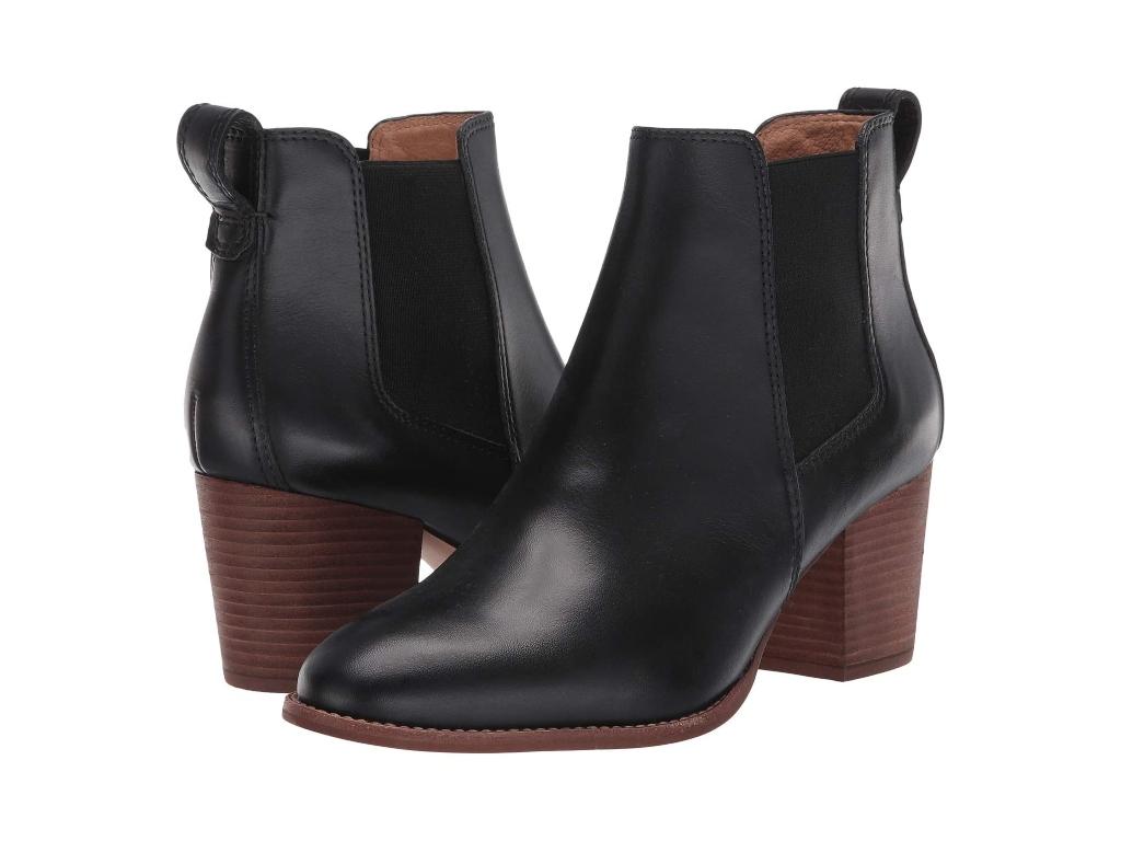 black boots for women, madewell regan boots