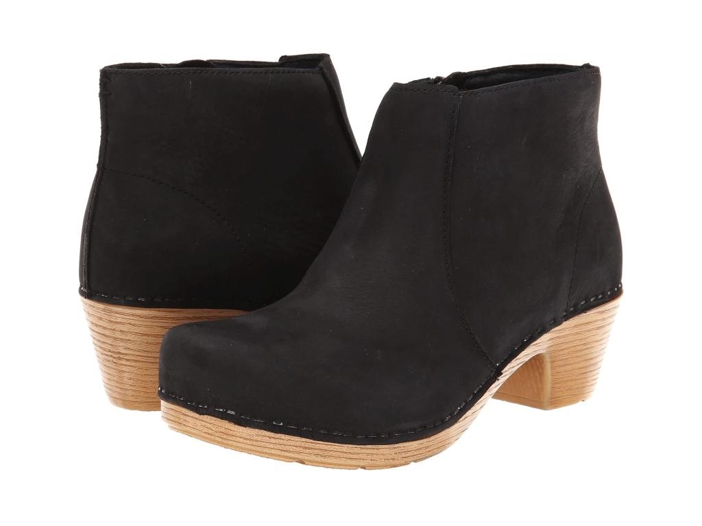black boots for women, Dansko Maria Bootie