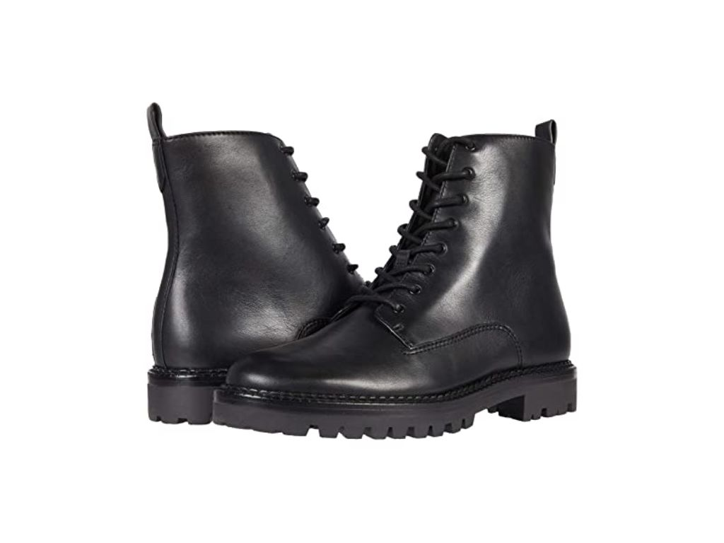 Vince Cabria Lug Boot, black boots for women