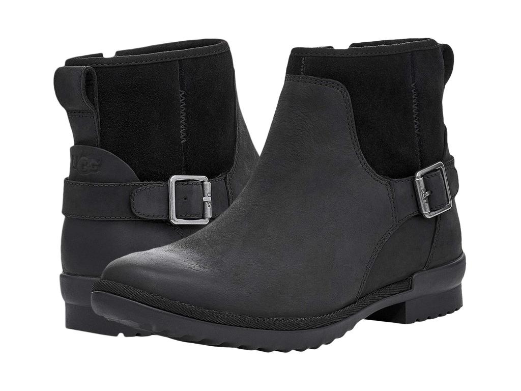 Damen Stiefeletten Chelsea Boots Lack Schlupfstiefel Booties 834046 Trendy
