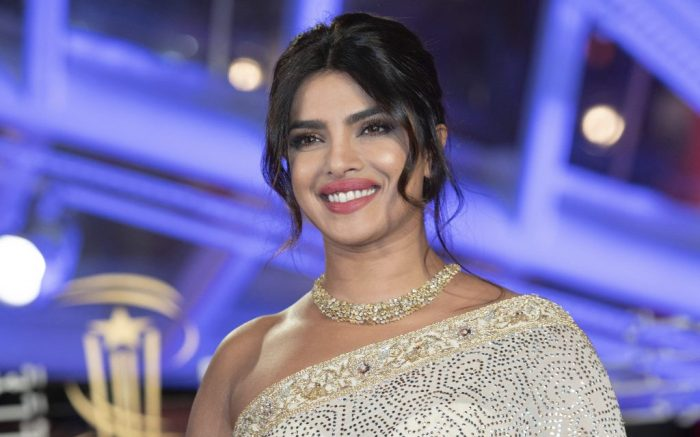 Priyanka Chopra attending the Tribute to Australian Cinema at the Jemaa El Fnaa square during of the 18th Marrakech International Film Festival in Marrakech, Morocco on December 05, 2019. Photo by Aurore Marechal/Abaca/Sipa USA(Sipa via AP Images)