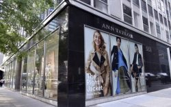 View of Ann Taylor's retail store