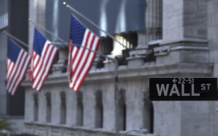 The Dow Jones surged more than 1,6000 points after drug maker Pfizer announced that its experimental COVID-19 vaccine was more than 90% effective, New York, NY, November 9, 2020. World financial markets reacted positively on the news of Joe Biden defeating incumbent U.S. President Donald Trump in the 2020 Presidential Elections. (Anthony Behar/Sipa USA)(Sipa via AP Images)