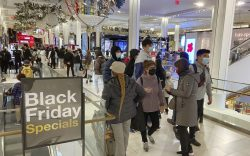 Fewer people than usual visit Macy's