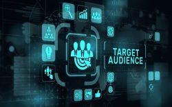 Target audience marketing illustration