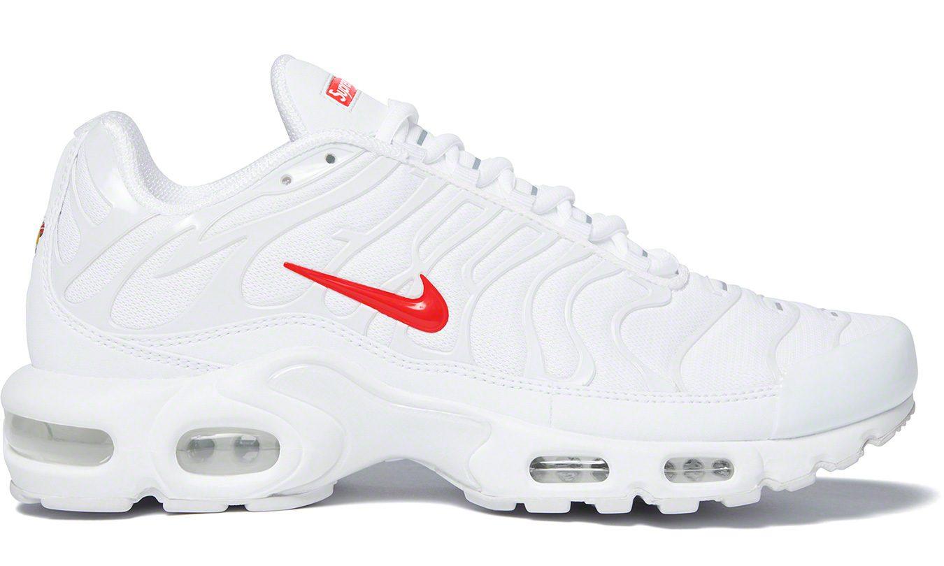 Supreme x Nike Air Max Plus in White