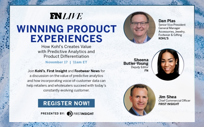 Header Graphic for First Insight and Kohls Winning Product Experiences Virtual Webinar