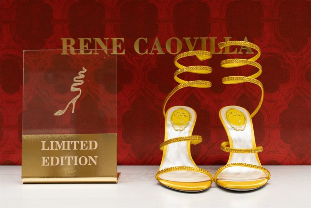 René Caovilla botique, René Caovilla, cleo sandal