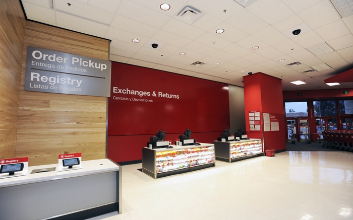 A remodeled Target Store is shown on Tuesday, July 3, 2018 in Duarte, Calif. (Carlos Delgado/AP Images for Target)