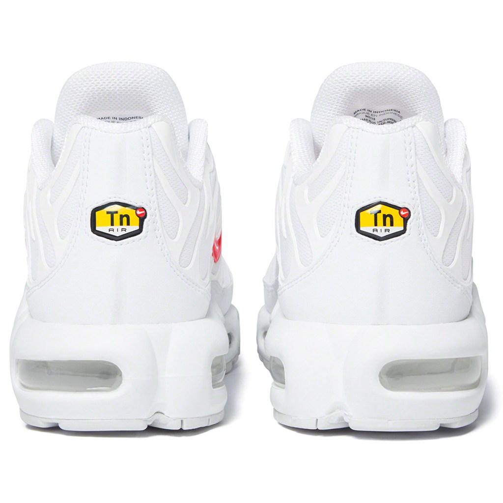 Supreme x Nike Air Max Plus Collaboration White