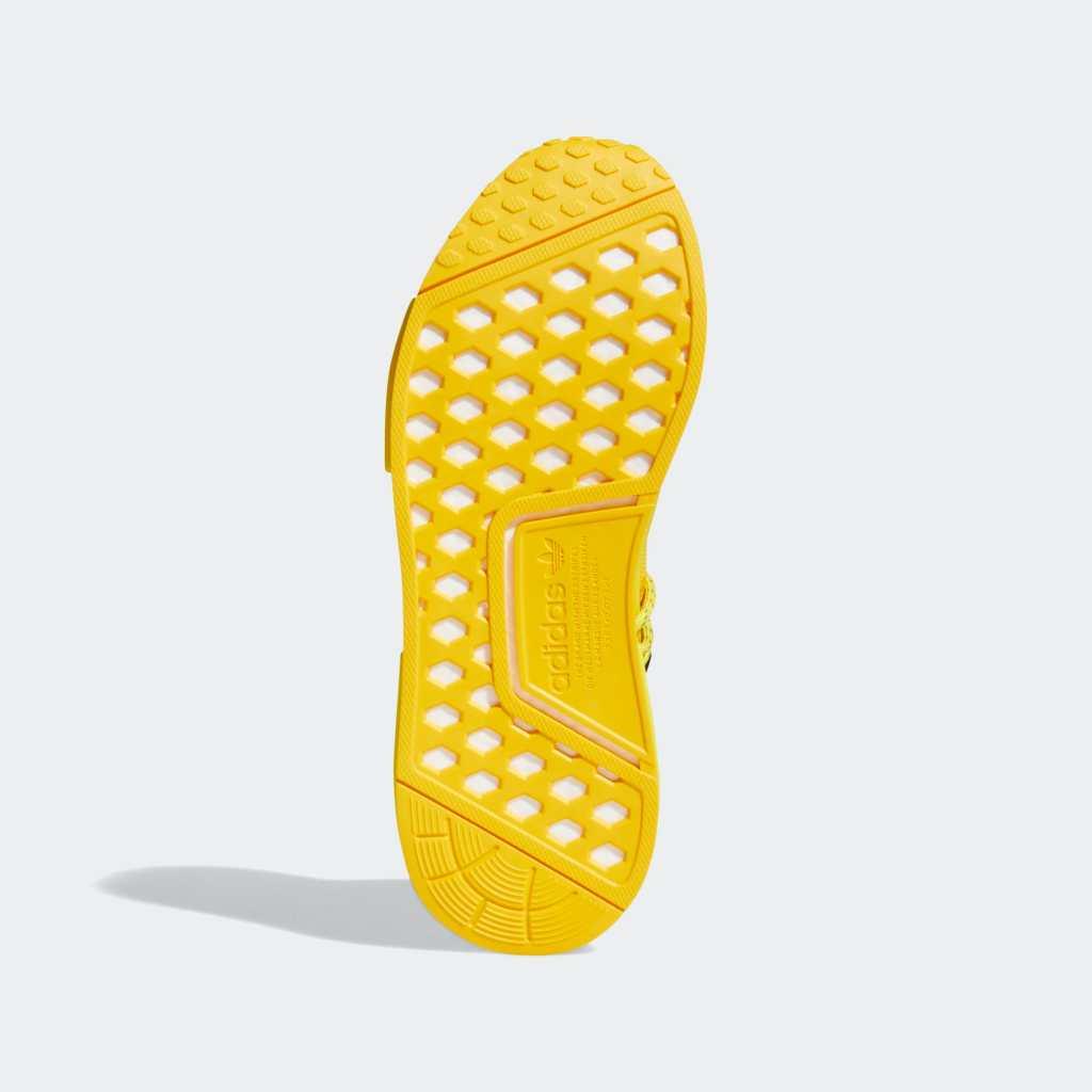 Pharrell x Adidas NMD Hu 'Gold' Outsole