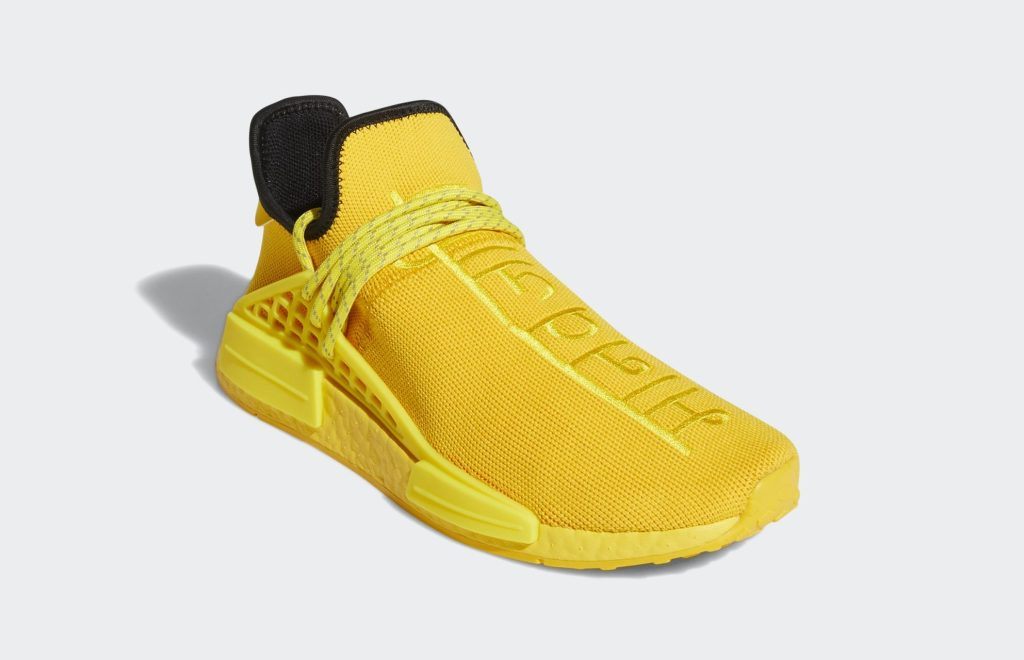 Pharrell x Adidas NMD Hu 'Gold' Front