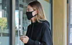 Hailey Bieber out and about with