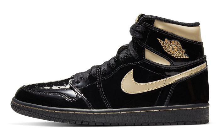 Air Jordan 1 Retro High OG 'Metallic Gold'