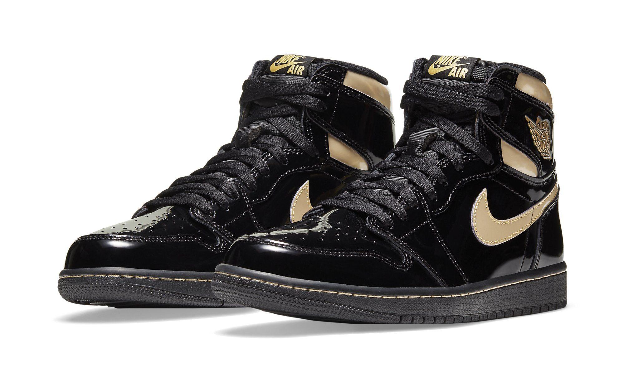 Air Jordan 1 'Black and Gold': Resale