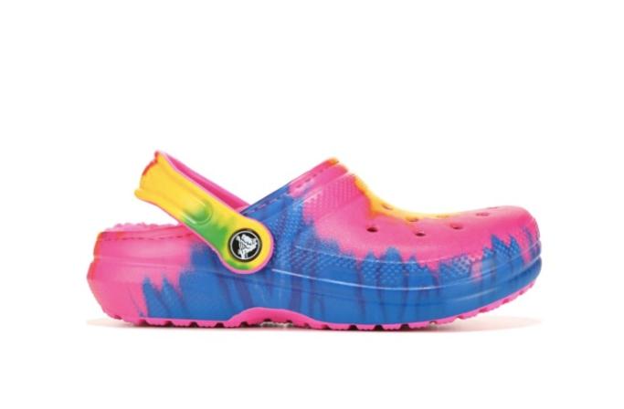 Kids' Crocs Classic Fuzz Lined Clog