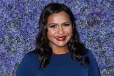 Mindy Kaling Sports These Sold-Out Outdoor Voices x Hoka One One Sneakers With Her Tie-Dye Sweat Set