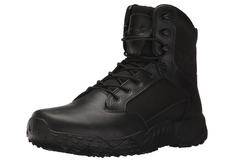 under armour men's stellar tactical side zip boots