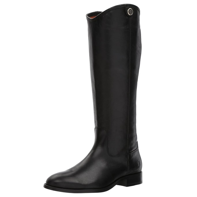 black boots for women, Frye Melissa Button 2 Riding Boot