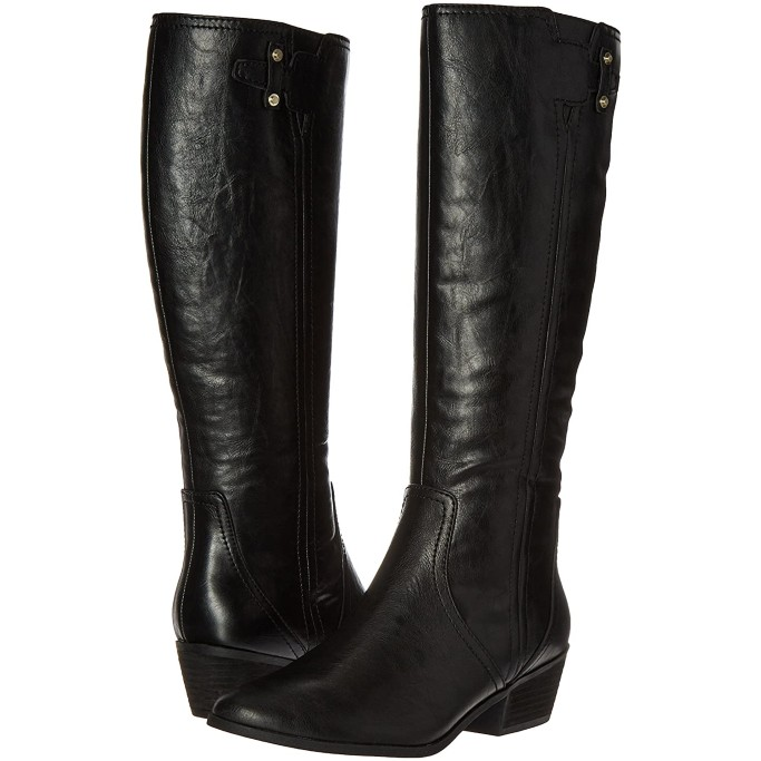 Dr. Scholl's Brilliance Riding Boot, black boots for women