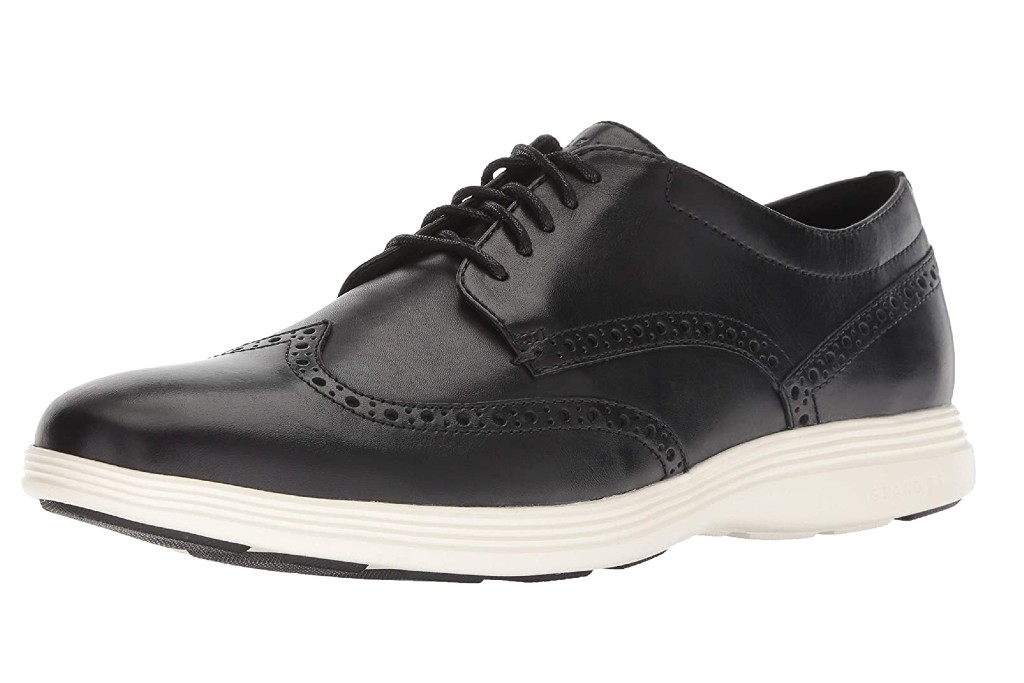 Cole Haan Men's Grand Tour Wingtip Oxford, shoes for standing all day long