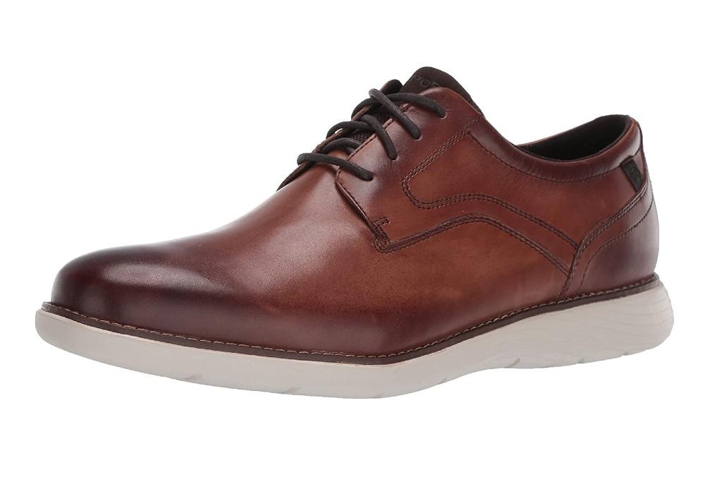Rockport Men's Garett Plain Toe Oxford, shoes for standing all day long