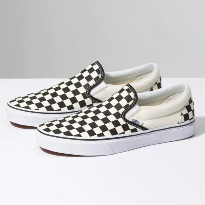 Vans-Checkered-Slip-On