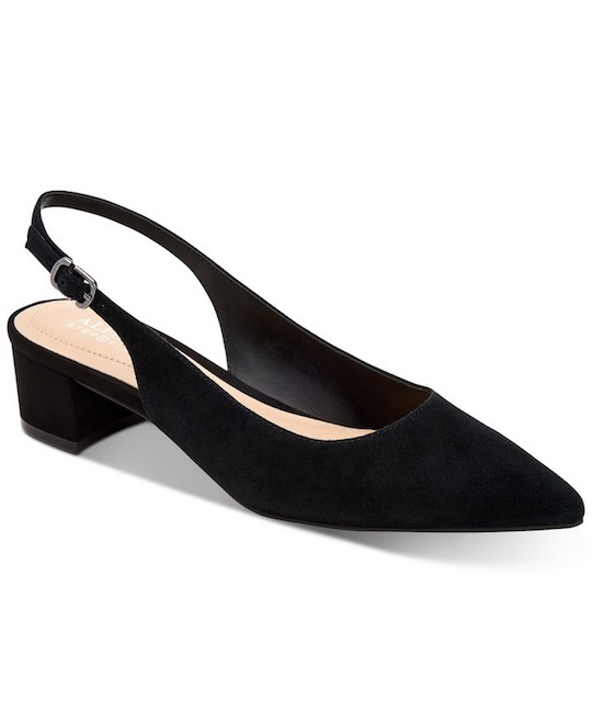 Alfani Charrlee Step 'N Flex Block Heel Slingback Heels