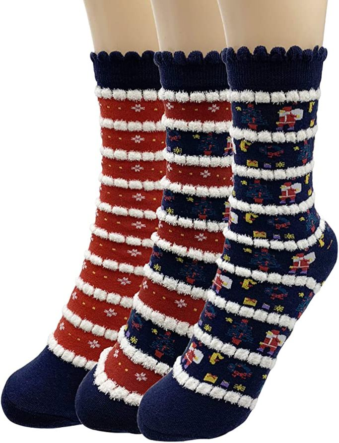 amazon holiday crew socks