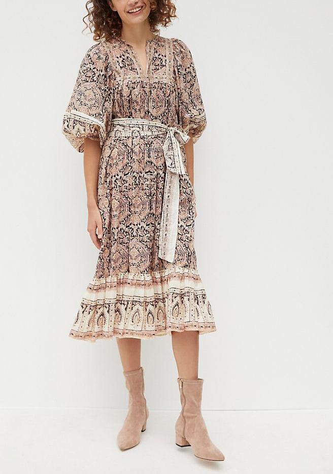 dress, boho, anthropologie