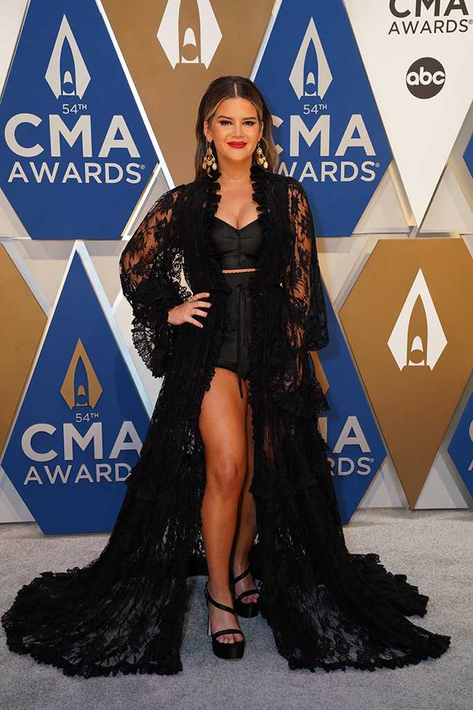 """Maren Morris at """"The 54th Annual CMA Awards"""" on Wednesday, November 11, 2020 at Music City Center in Downtown Nashville."""