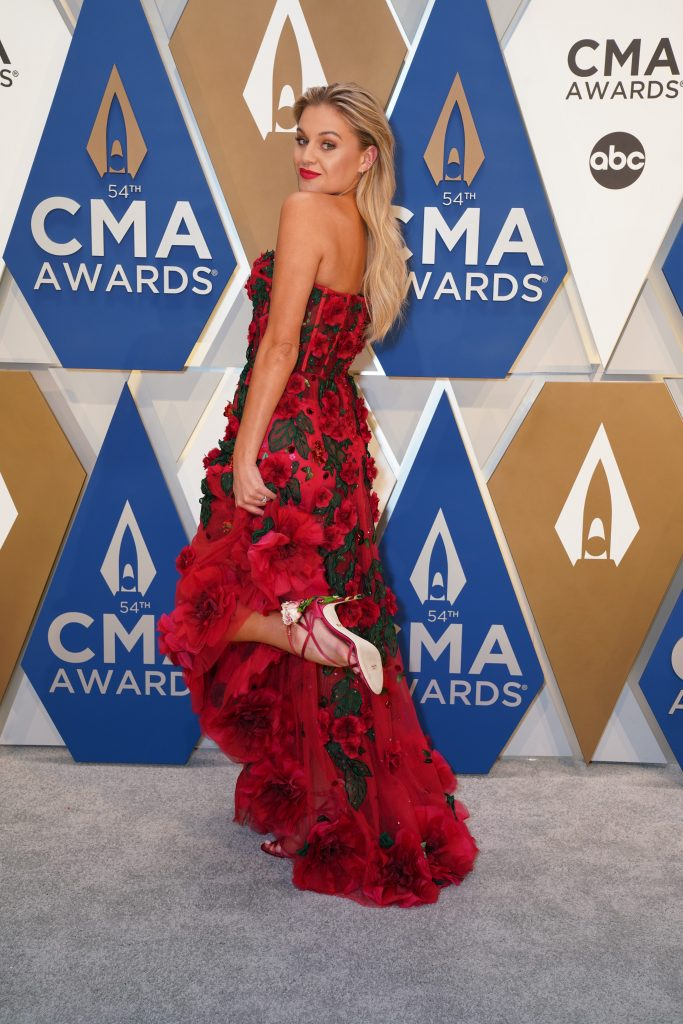 """Kelsea Ballerini at The 54th Annual CMA Awards"""" on Wednesday, November 11, 2020 at Music City Center in Downtown Nashville."""