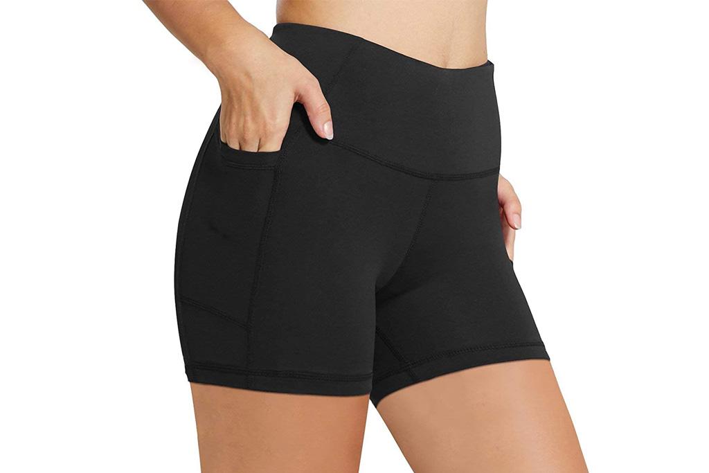 shorts, biker shorts, spandex