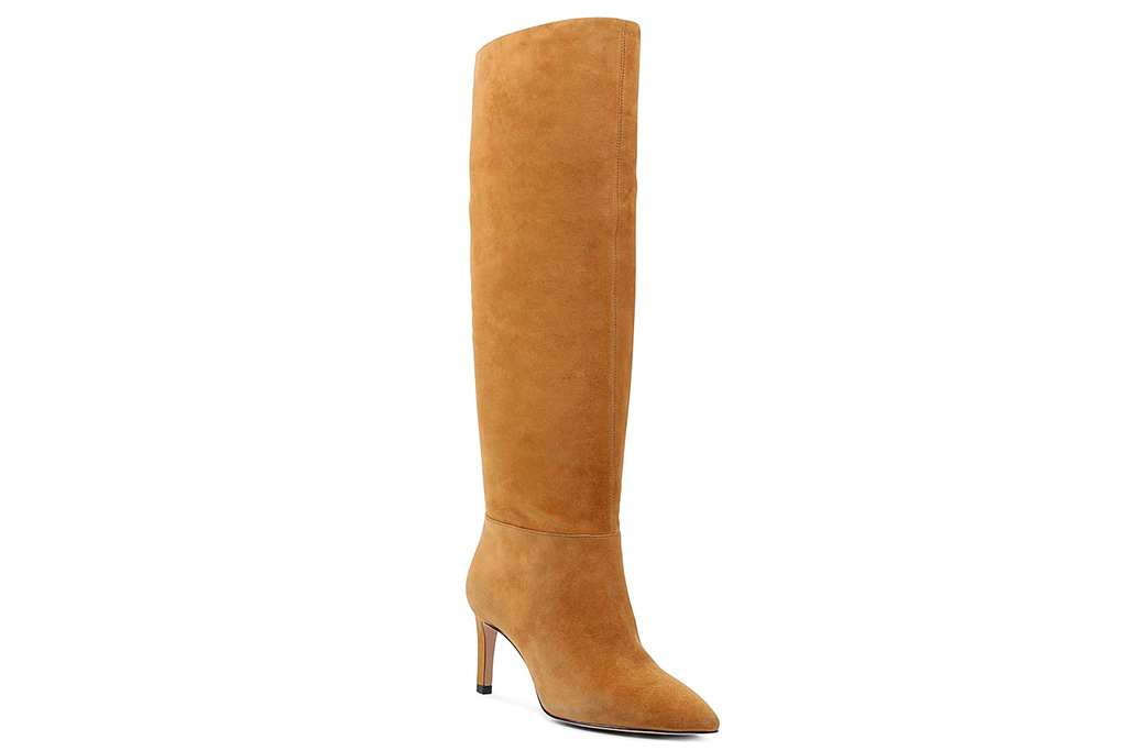 suede boots, leather boots, brown boots, bcbgeneration