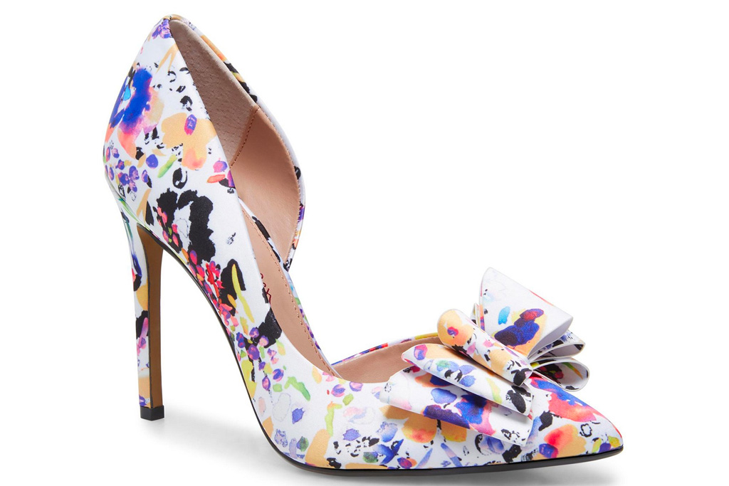 heels, pumps, rainbow, shoes, betsey johnson