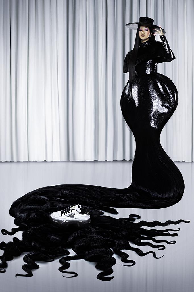 Cardi B Footwear News Cover Story