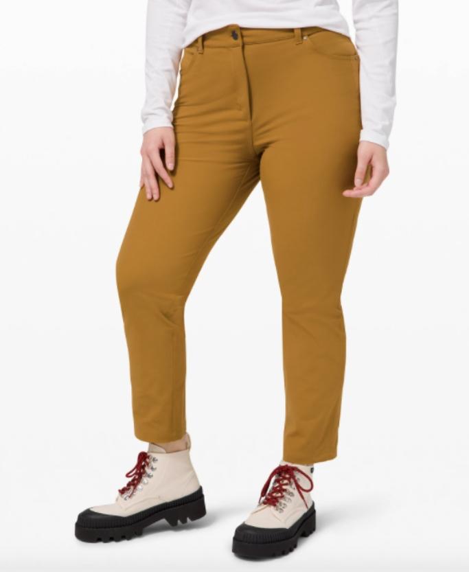 city sleek pants