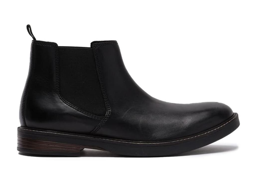 clarks chelsea boot, best mens chelsea boot, leather chelsea boot