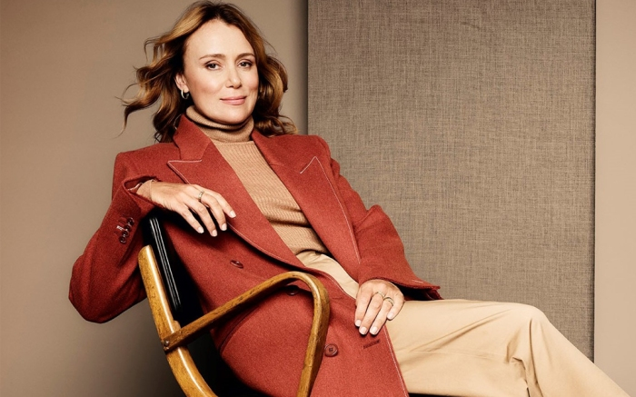 Keeley Hawes Clarks Holiday 2020 Campaign