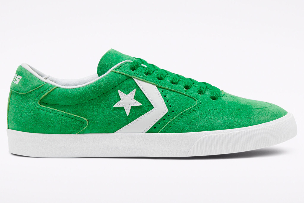 sneakers, green, white, converse