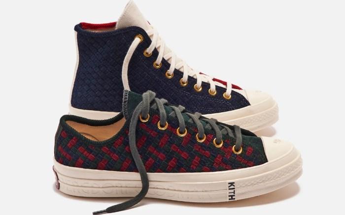kith, converse, bergdorf goodman, bergdorfs, sneakers, chuck taylor, all star, high, low