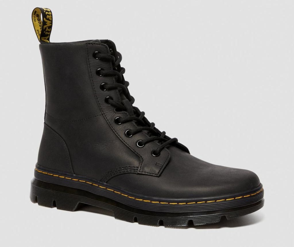 boots, black, combat boots, lace up, dr martens, doc martens